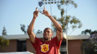 USC&#039;s Bryshon Nellum wins 200 meter, 400 meter titles