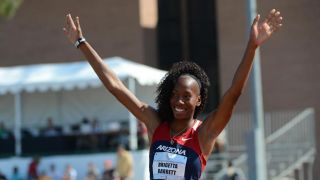 Brigetta Barrett sets NCAA high jump record