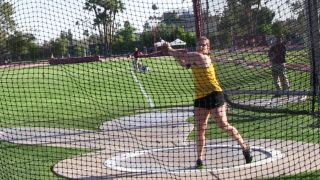 ASU's Chelsea Cassulo sets school throwing record
