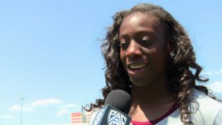 Christabel Nettey claims long jump title