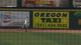 OSU's Max Gordon lays out for amazing catch