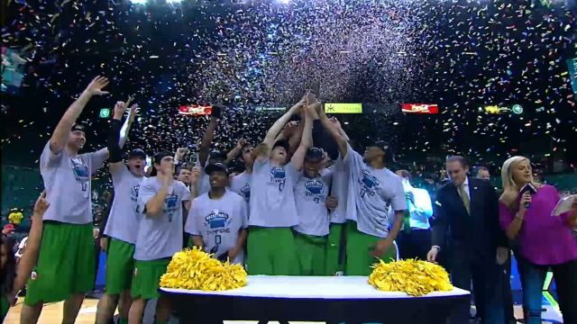 Oregon postgame celebration