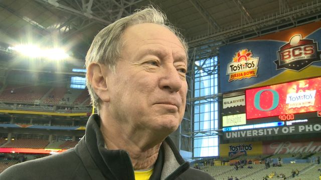 Jerry Allen proud of Oregon accomplishments