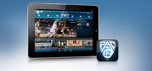 Pac-12 Now iPad app